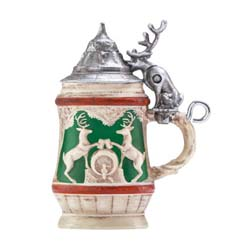 2019 Bitty Beer Stein, Miniature - AVAIL OCT