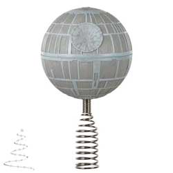 2020 Miniature Death Star Tree Topper, Star Wars