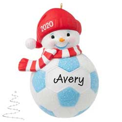 2020 Soccer Snowman - PRE-ORDER NOW, SHIPS AFTER OCT 5