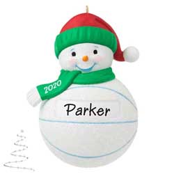 2020 Basketball Snowman - PRE-ORDER NOW, SHIPS AFTER OCT 5