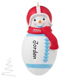 2020 Football Snowman - PRE-ORDER NOW, SHIPS AFTER OCT 5