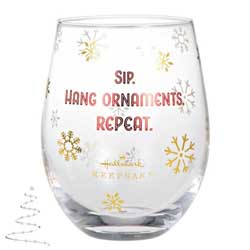 2020 Hang Ornaments Wine Glass - PRE-ORDER NOW, SHIPS AFTER OCT 5