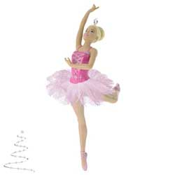 2020 Beautiful Ballerina Barbie Ornament - PRE-ORDER NOW, SHIPS AFTER OCT 5