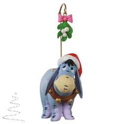 2020 Eeyore's Christmas Kiss, Disney Winnie the Pooh - PRE ORDER NOW - SHIPS AFTER JULY 13