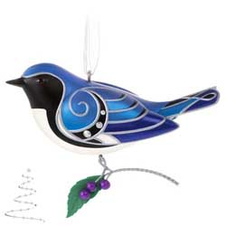 2020 Black-Throated Blue Warbler, Beauty of Birds #16 - PRE ORDER NOW - SHIPS AFTER JULY 13
