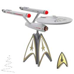 2020 U.S.S. Enterprise, Tree Topper, STAR TREK Mirror, Mirror Collection - PRE ORDER NOW - SHIPS AFTER JULY 13