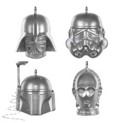 2020 Star Wars Miniature Ornament Set