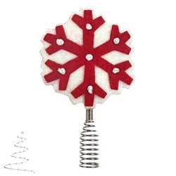 2020 Miniature Snowflake Tree Topper - PRE ORDER NOW - SHIPS AFTER JULY 13