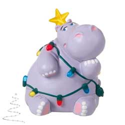 2020 Holiday Hippo, Miniature - PRE-ORDER NOW, SHIPS AFTER OCT 5