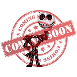2021 Lil' Jack Skellington, Disney Tim Burton's The Nightmare Before Christmas,, Miniature - PRE ORDER NOW - SHIPS AFTER JULY 12