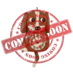2021 Lil' Puppy Clock, Miniature - PRE ORDER NOW - SHIPS AFTER JULY 12
