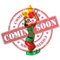 2021 Merry Lil' Goofy Disney Goofy, Miniature - PRE ORDER NOW - SHIPS AFTER JULY 12