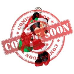 2021 Merry Lil' Minnie Disney Minnie Mouse, Miniature - PRE ORDER NOW - SHIPS AFTER JULY 12