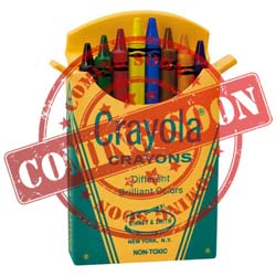 2021 Mini Box of 8 Crayola, Miniature - PRE ORDER NOW - SHIPS AFTER JULY 12