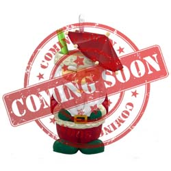 2021 Santa Tiki, Miniature - PRE ORDER NOW - SHIPS AFTER JULY 12
