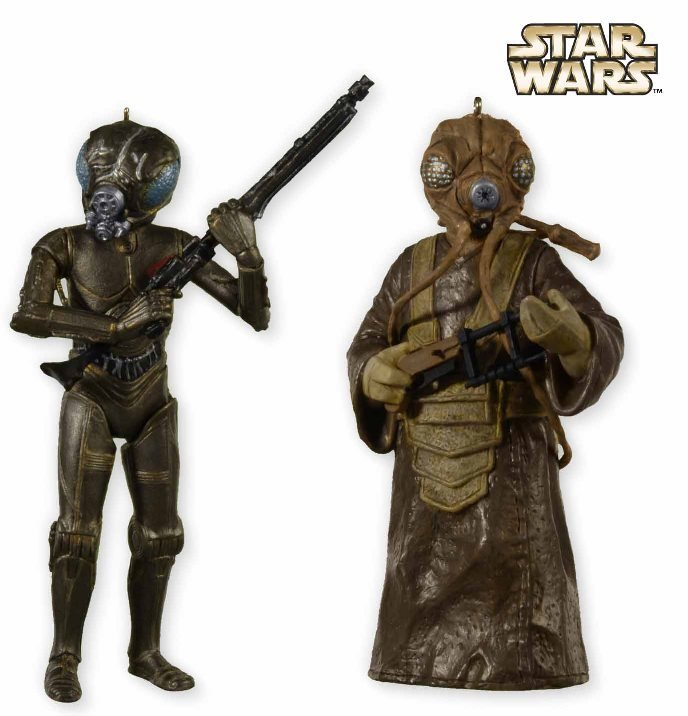 2012 4-LOM and Zuckuss, Star Wars, SDCC - RARE - SDB