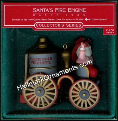 1985 Santa's Fire Engine, Here Comes Santa #7