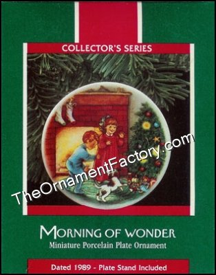 1989 Morning of Wonder, Collectors Plate #3