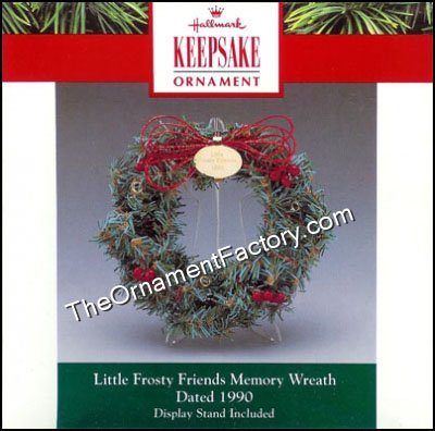 1990 Frosty Friends Memory Wreath