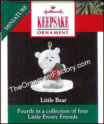 1990 Little Bear, Frosty Friends