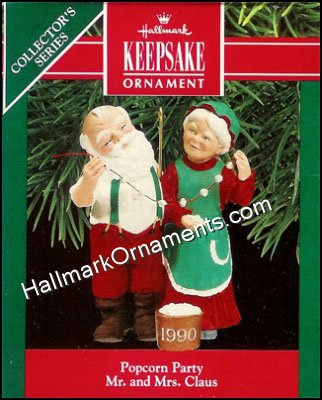 1990 Popcorn Party, Mr and Mrs Claus #5