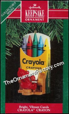 1991 Bright Vibrant Carols, Crayola #3 DB