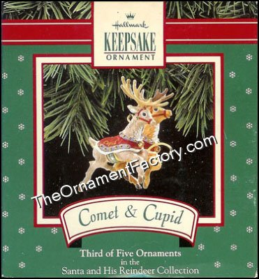 1992 Comet Cupid,  Santa and Reindeer #3