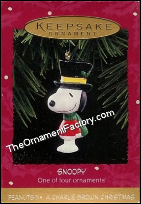 1995 Snoopy, Charlie Brown Christmas, PEANUTS