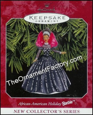 1998 Holiday Barbie, Af-Am #1