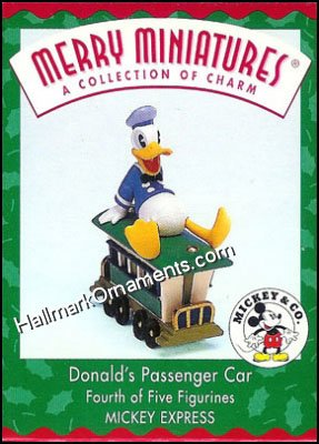 1998 Merry Miniatures - Donald's Passenger Car, Disney