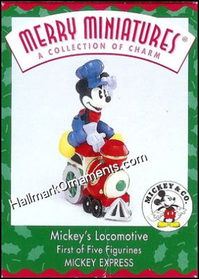 1998 Merry Miniatures - Mickey's Locomotive, Disney