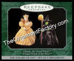 1998 Glinda & Wicked Witch, Wizard of Oz