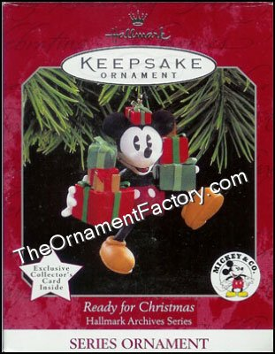 1998 Ready for Christmas, Hallmark Archives #2, Disney