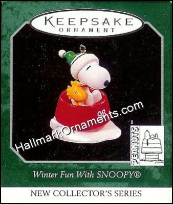 1998 Winter Fun with Snoopy #1 - Miniature
