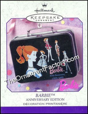 1999 Barbie Lunchbox