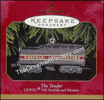 1999 Lionel Train Tender - 746 Norfolk and Western
