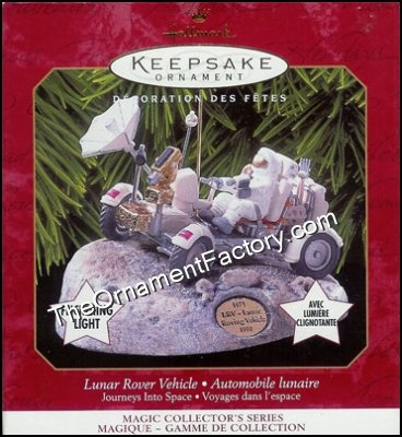 1999 Lunar Rover Vehicle, Journeys Into Space #4, Magic - DB