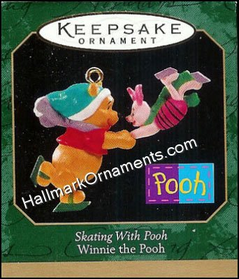 1999 Skating with Pooh, Miniature