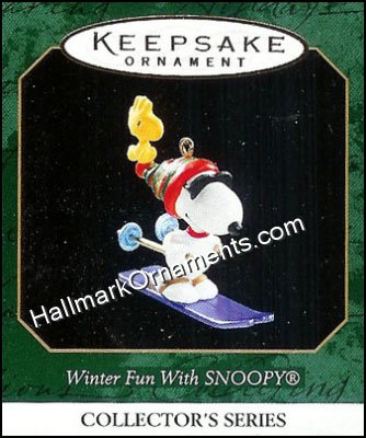 1999 Winter Fun with Snoopy #2, Miniature