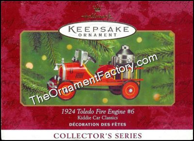 2000 1924 Toledo Fire Engine, Kiddie Car Classic #7