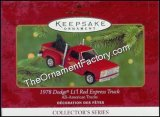 2000 1978 Dodge Lil Red Express, All-American Trucks #6 DB