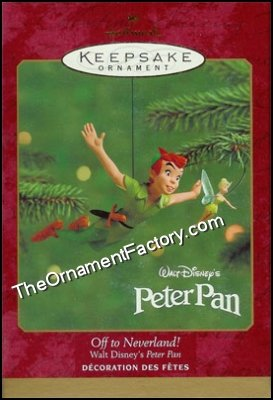 2000 Off to Neverland, Peter Pan, Disney