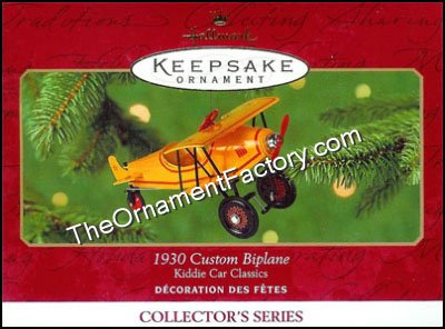 2001 1930 Custom Biplane, Kiddie Car Classic #8