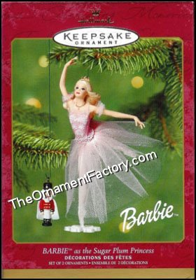 2001 Barbie as the Sugar Plum Princess