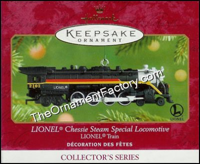 2001 Lionel Train #6 - Chessie Steam Special Locomotive