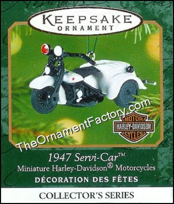 2001 1947 Servi-Car, Mini Harley-Davidson #3