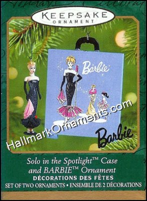 2001 Solo in the Spotlight Case & Barbie, Miniature