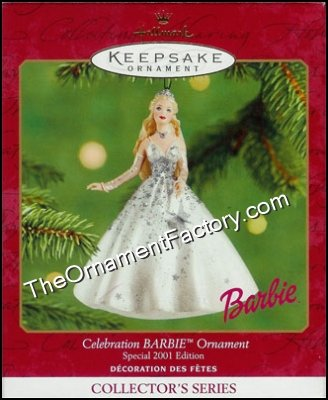 2001 Celebration Barbie #2 - DB