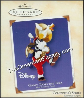 2002 Goofy Toots the Tuba, Mickeys Holiday Parade #6