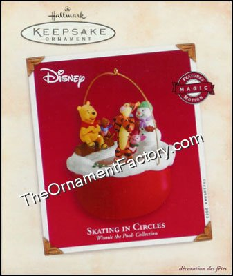 2002 Skating In Circles, Pooh, Disney, Magic